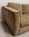 Brown Three Seater Sofa