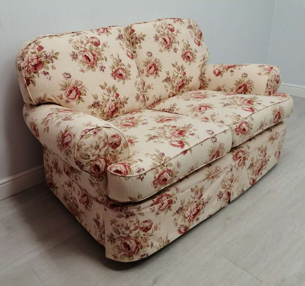 Floral Two Seater Sofa