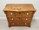 Old Pine Chest of Three Drawers