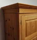 Large Double Pine Wardrobe with Drawers
