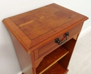 Repro Side / Lamp Table with Drawer