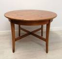 "3ft6"" Round Pine Table"