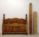 "4ft6"" Chunky Pine Bed Frame"