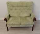 Green Classic Two Seater Sofa