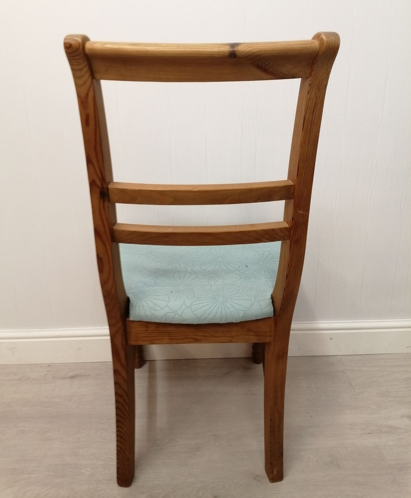 Ladder Back Dining Chair with Cushion