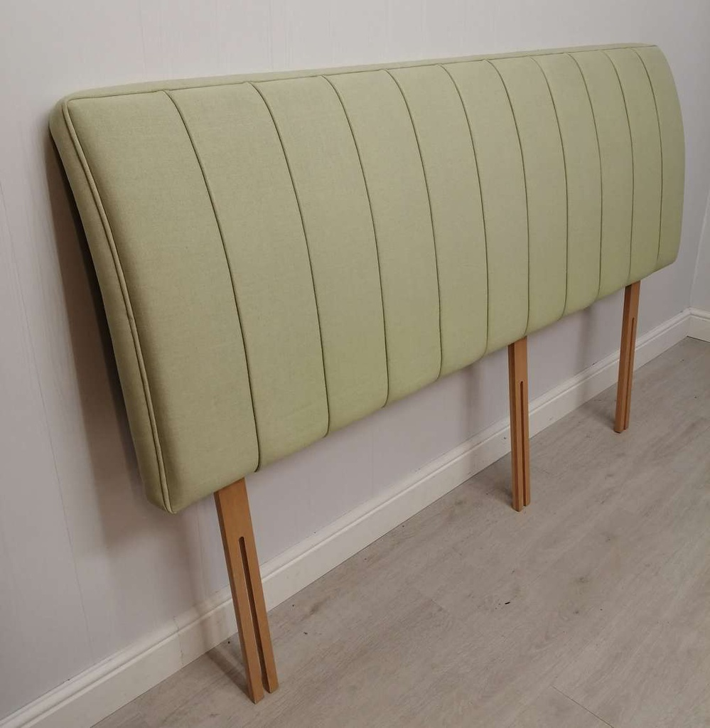 6ft Green Headboard